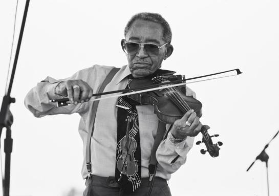 Caption: Claude 'Fiddler' Williams