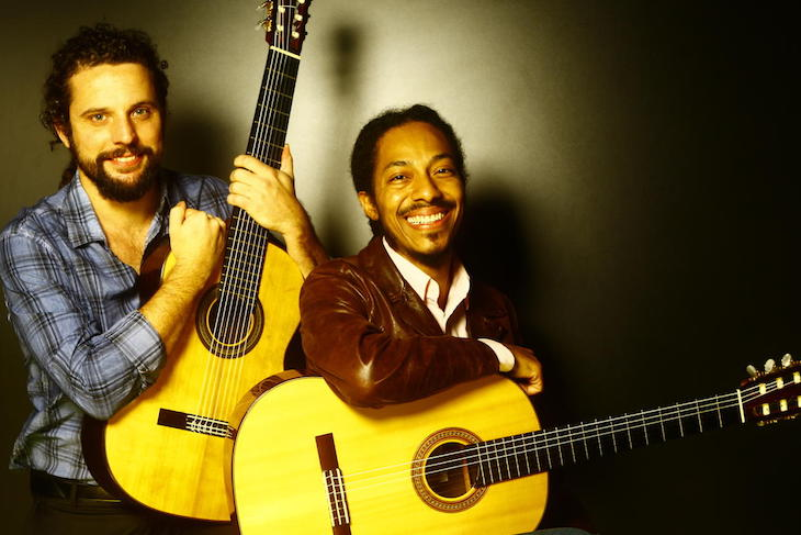 Caption: Brasil Guitar Duo, Credit: Brasil Guitar Duo