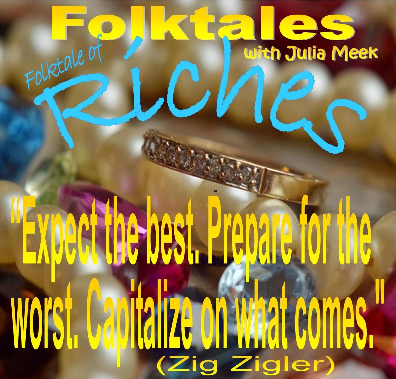 Caption: WBOI's Folktale of Riches, Credit: Julia Meek