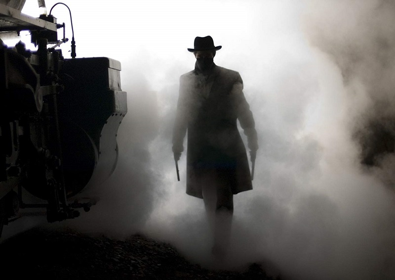 Caption: Brad Pitt in 'The Assassination of Jesse James by the Coward Robert Ford' (2007)