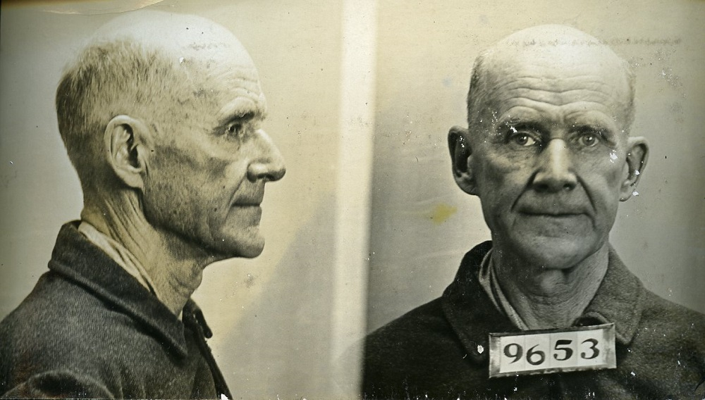 """Caption: """"While there is a lower class, I am in it, while there is a criminal element, I am of it, and while there is a soul in prison, I am not free."""""""