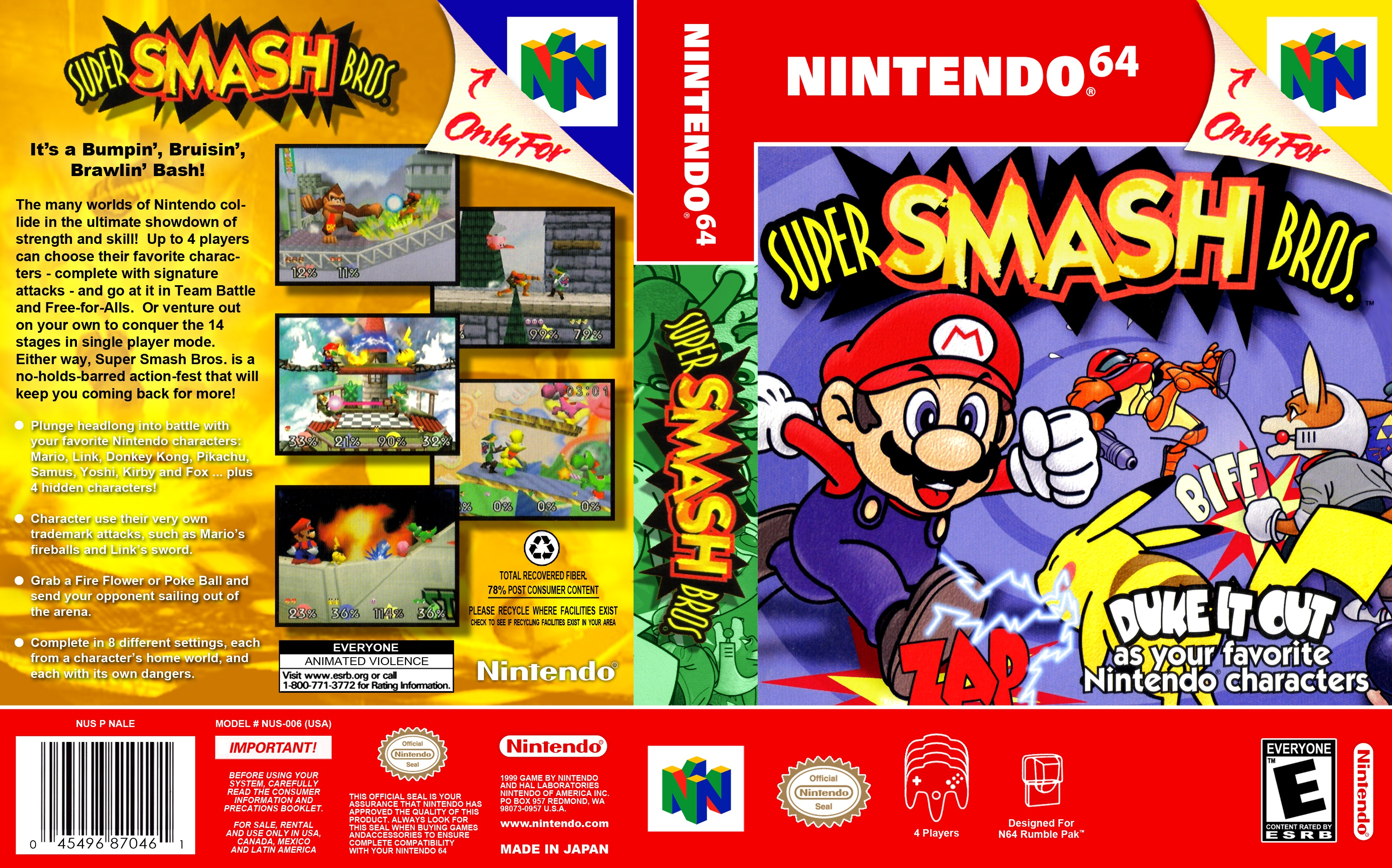 PRX » Piece » Smash Bros 64