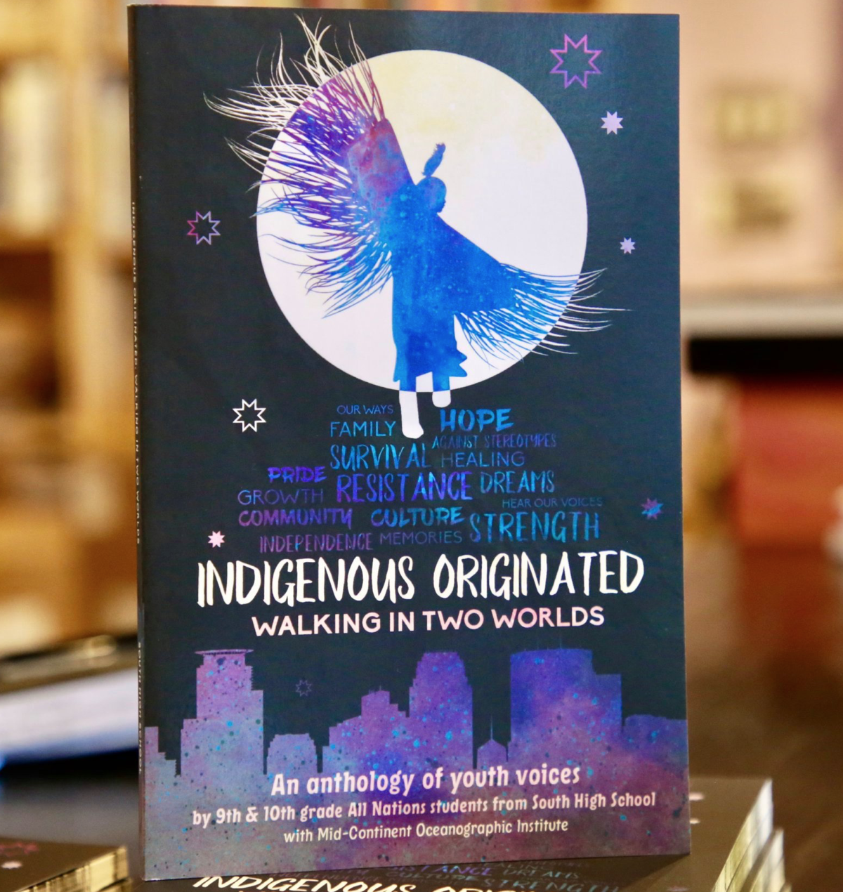 Caption: Native students from South High in Minneapolis have published a book of poetry, prose and artwork., Credit: Mid-Continent Oceanographic Institute