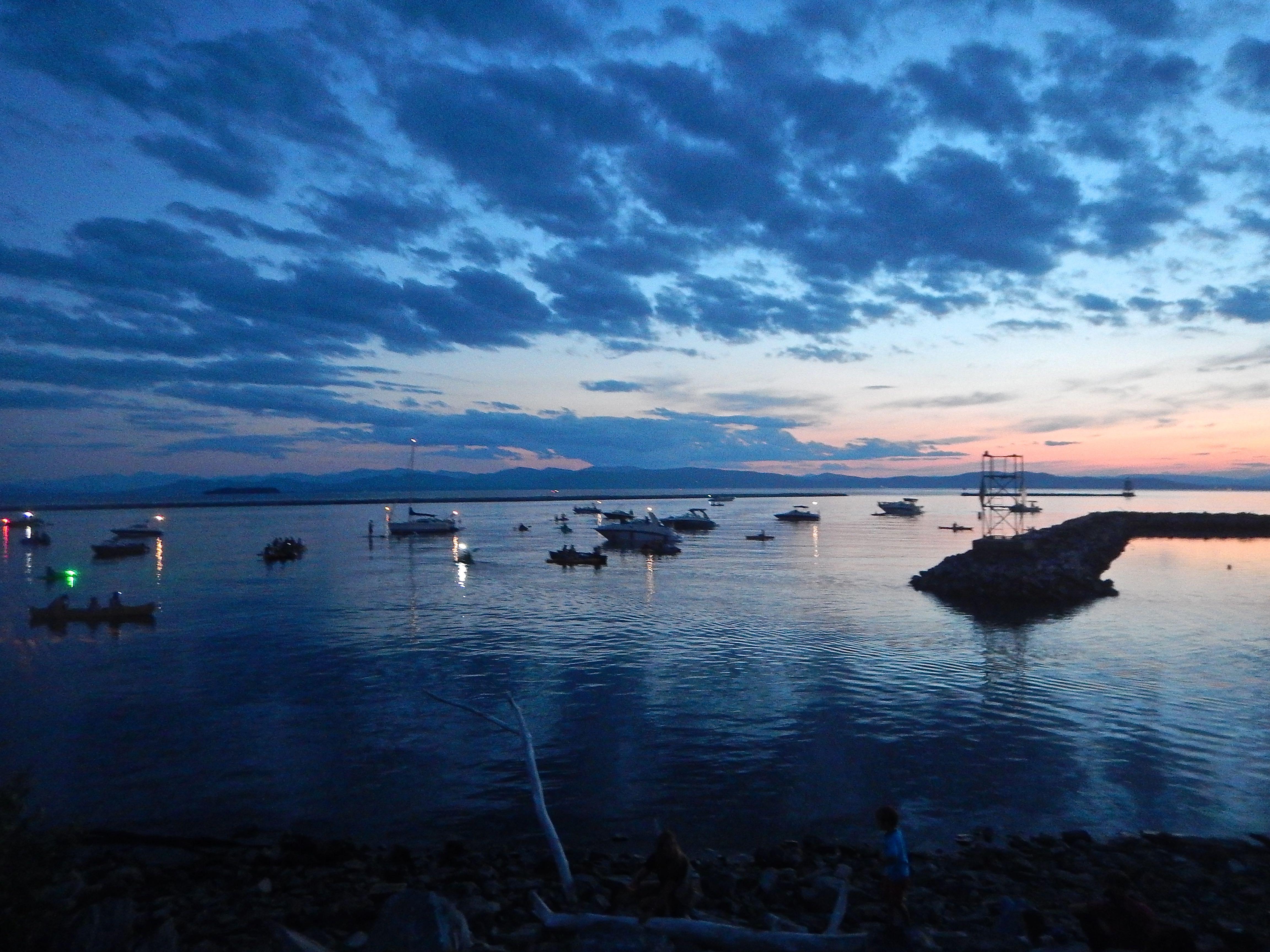 Caption: Burlington, Vermont Waterfront - July 2018, Credit: Brian Aust