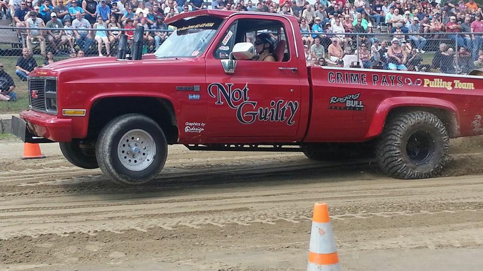 Caption: Rene Drivers Her Truck, Credit: Facebook