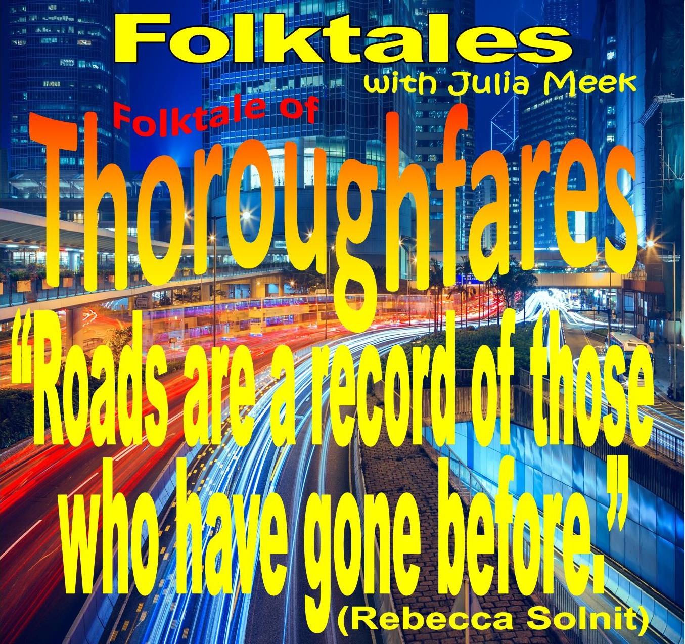Caption: WBOI's Folktale of Thoroughfares, Credit: Julia Meek