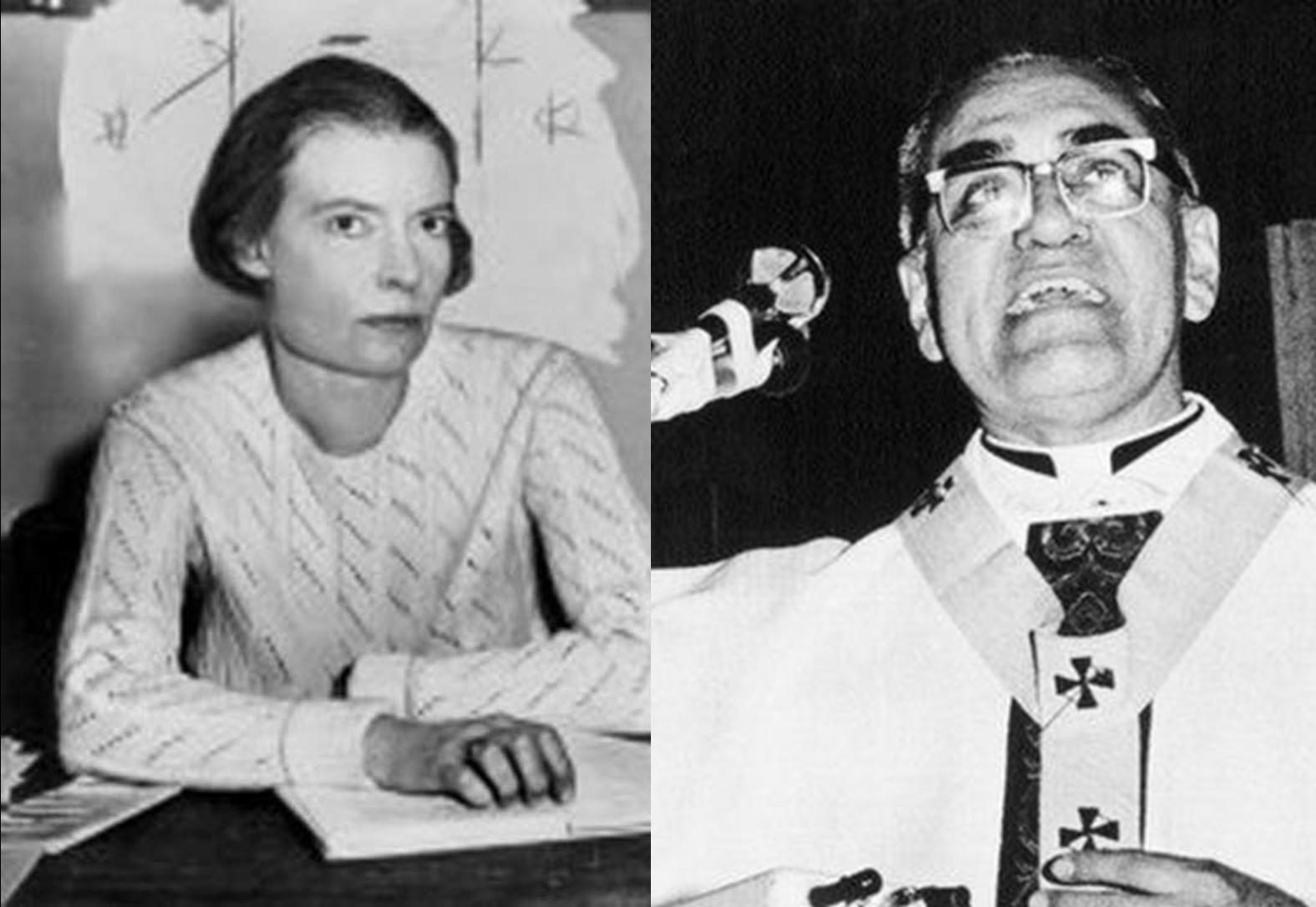 Caption: Dorothy Day / Archbishop Oscar Romero