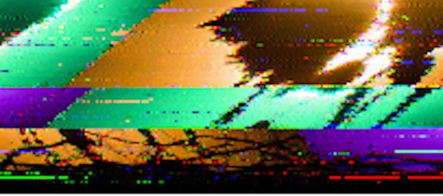 Caption: Cafe Chill, Credit: SSTV image, received on shortwave