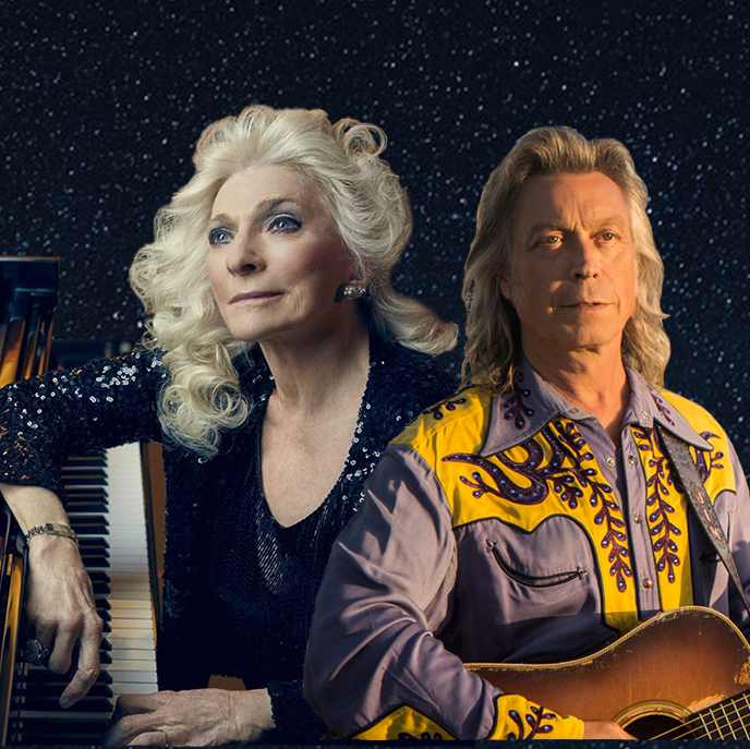 Caption: Judy Collins and Jim Lauderdale
