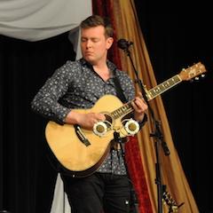 Caption: Irish guitar virtuoso Shane Hennessy.
