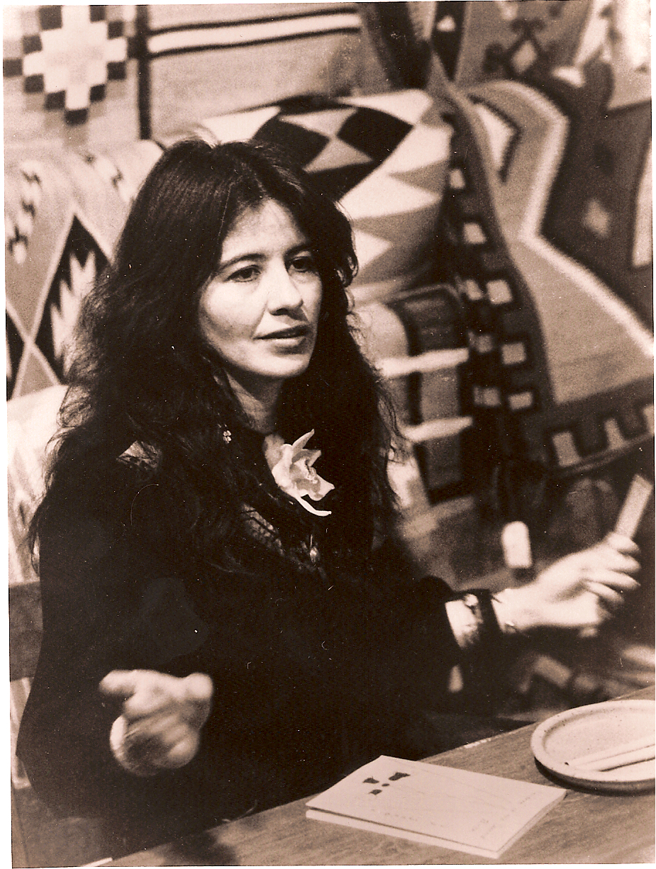 Caption: Joy Harjo, Poet Laureate