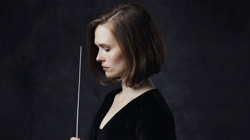 Caption: Mirga Gražinyt?-Tyla, conductor and soprano, Credit: Andreas Hechenberger