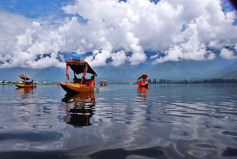 Caption: Dal Lake in Kashmir, Credit: By Basharat Shah - Flickr: Dal Lake, CC BY 2.0