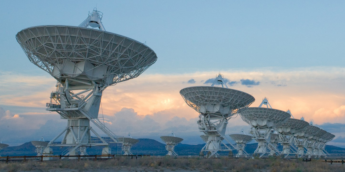 Caption: The Very Large Array, Credit: National Radio Astronomy Observatory