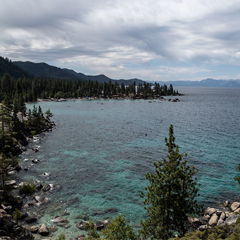 Caption: Sand Harbor, Lake Tahoe, Credit: Brian Bahouth