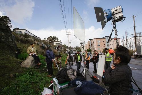 Caption: The Last Black Man in San Francisco