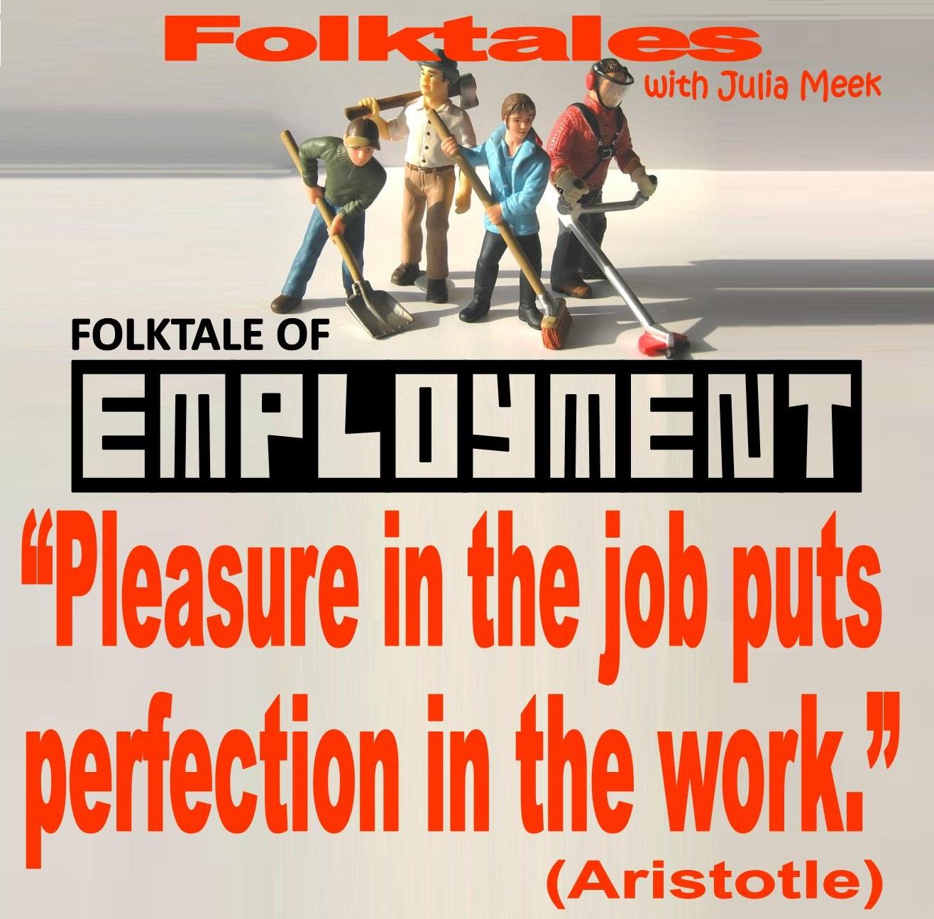Caption: WBOI's Folktale of Employment, Credit: Julia Meek