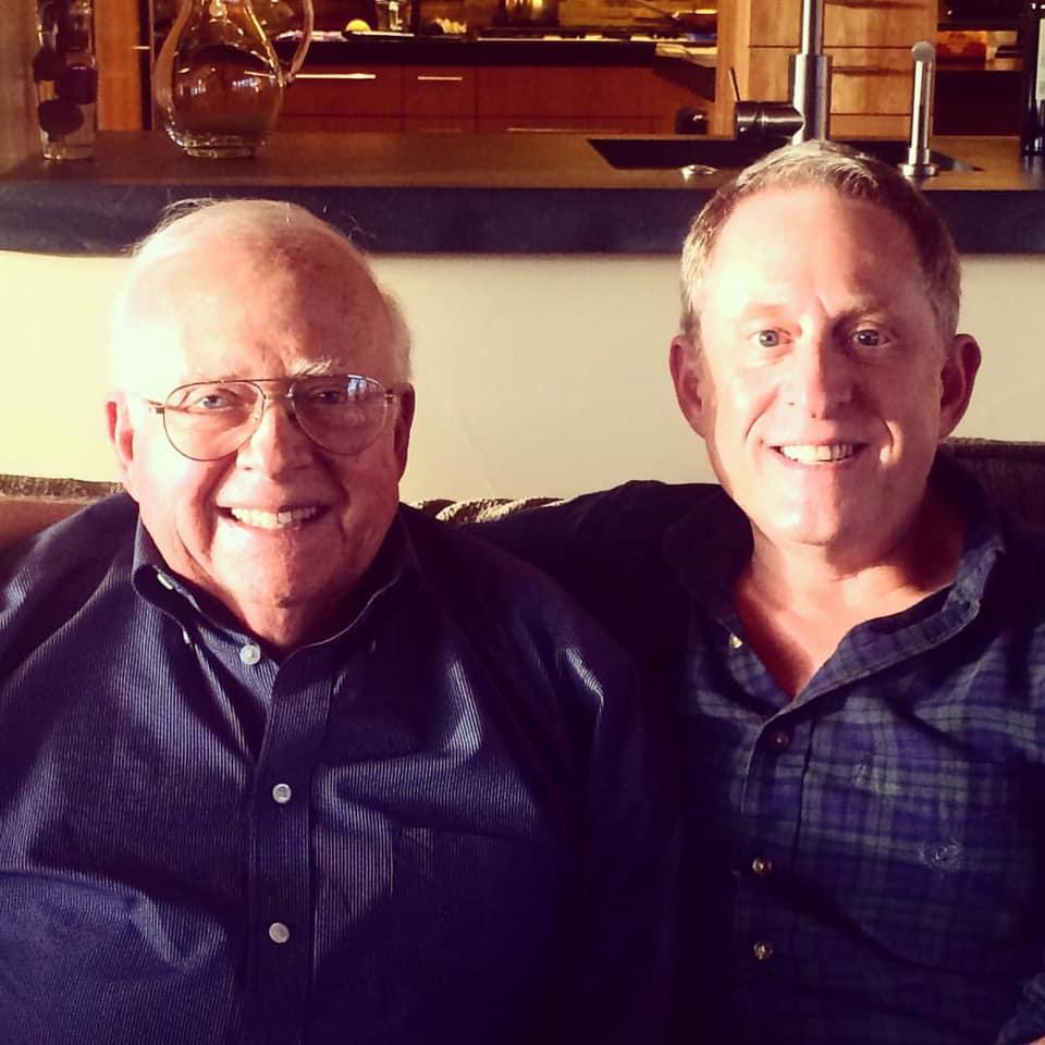 Caption: Leonard and Alan Stern