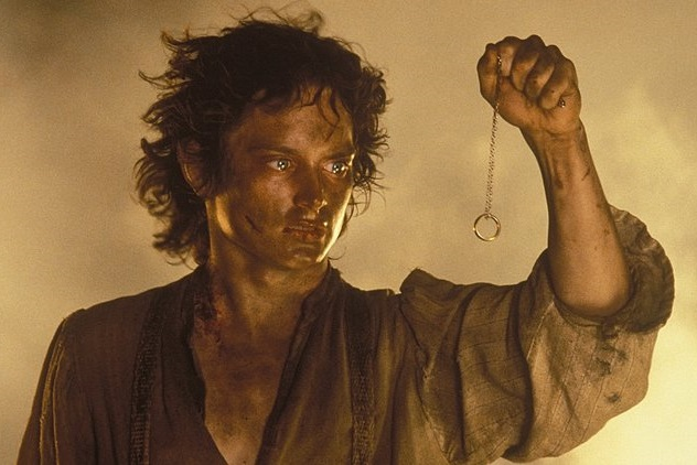 Caption: Elijah Wood in 'The Lord of the Rings: The Fellowship of the Ring'