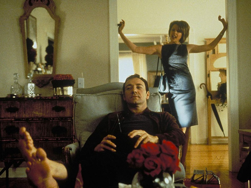 Caption: Kevin Spacey and Annette Bening in 'American Beauty' (1999)