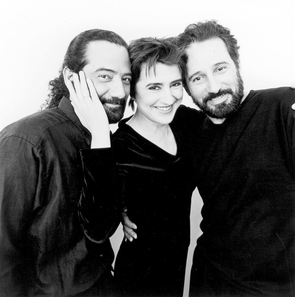 Caption: Nadja Salerno-Sonnenberg and Assad Duo, Credit: Nonesuch Records