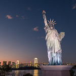 Caption: The Statue of Liberty - Tokyo, Japan - Travel photography, Credit: Photo by Giuseppe Milo.