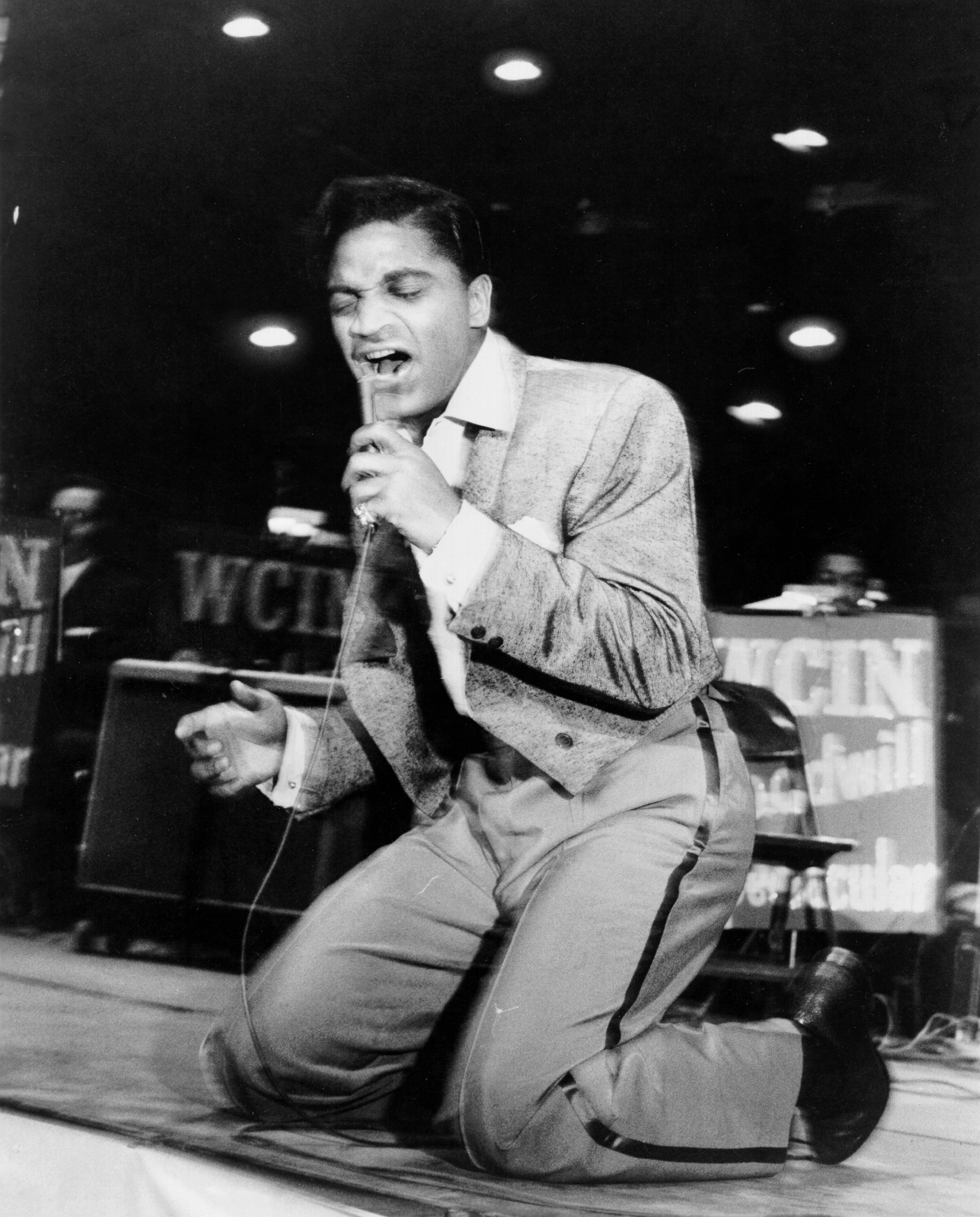 Caption: Mr. Excitement- Jackie Wilson
