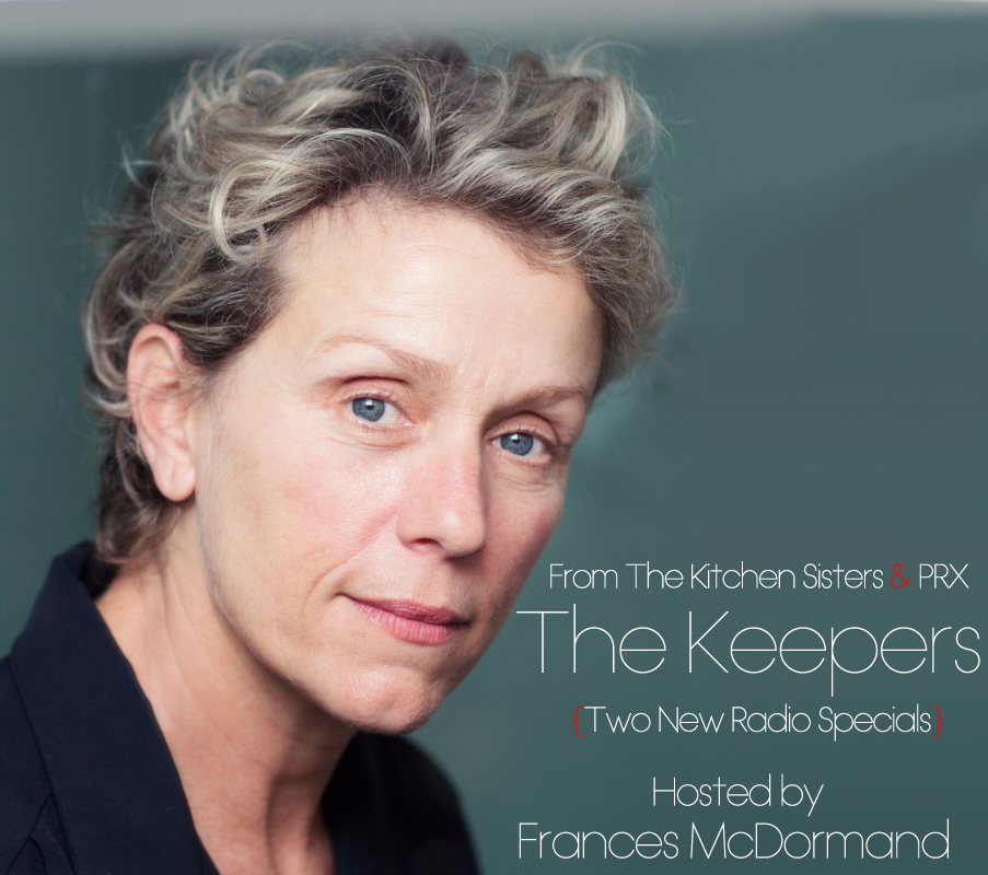 Caption: The Keepers hosted by Frances McDormand