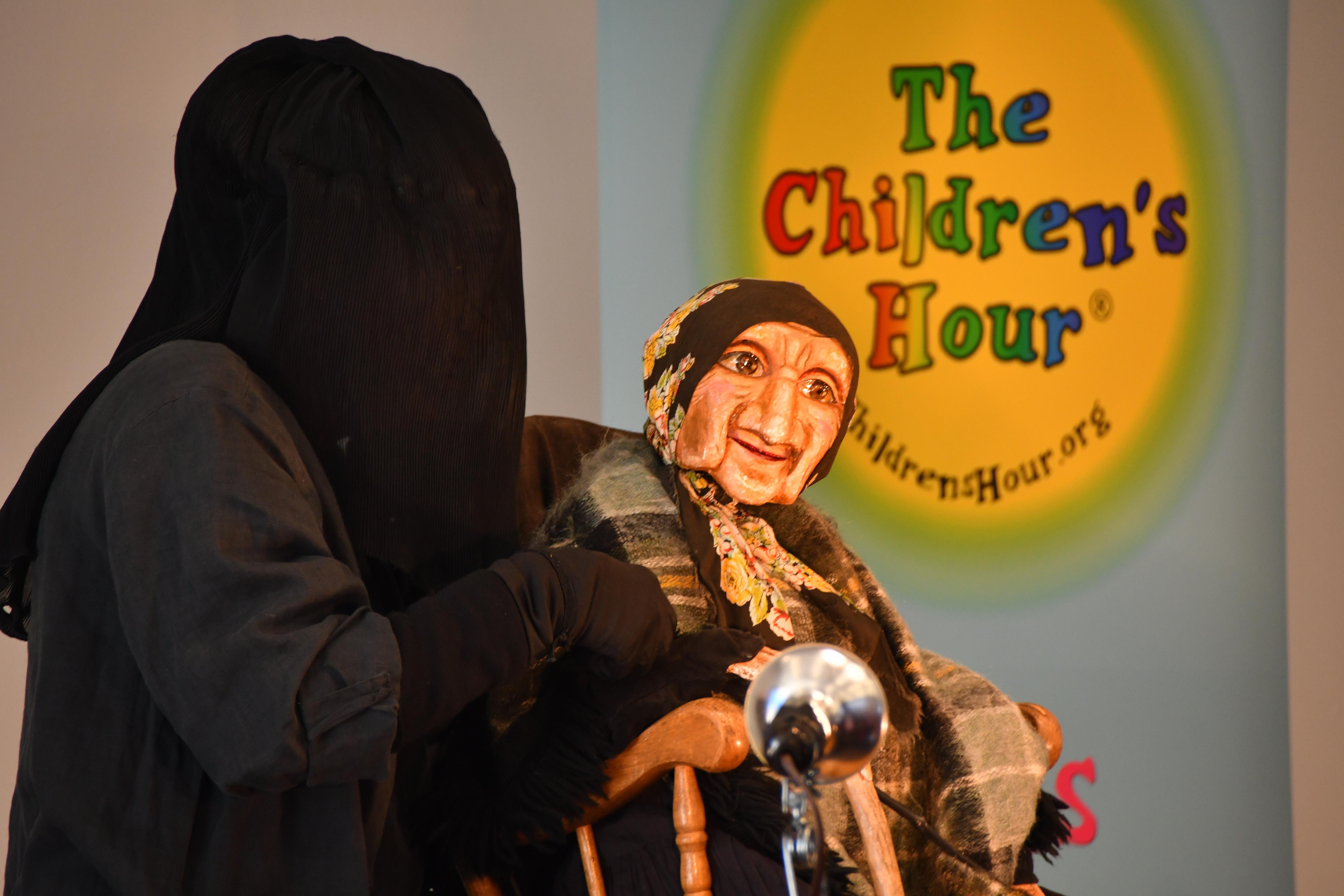 Caption: Loren Kahn Puppet Theater, Credit: Gary Newell