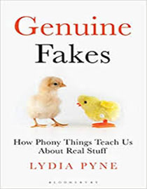 Caption: Genuine Fakes, Credit: jacket cover by Rob Ehle