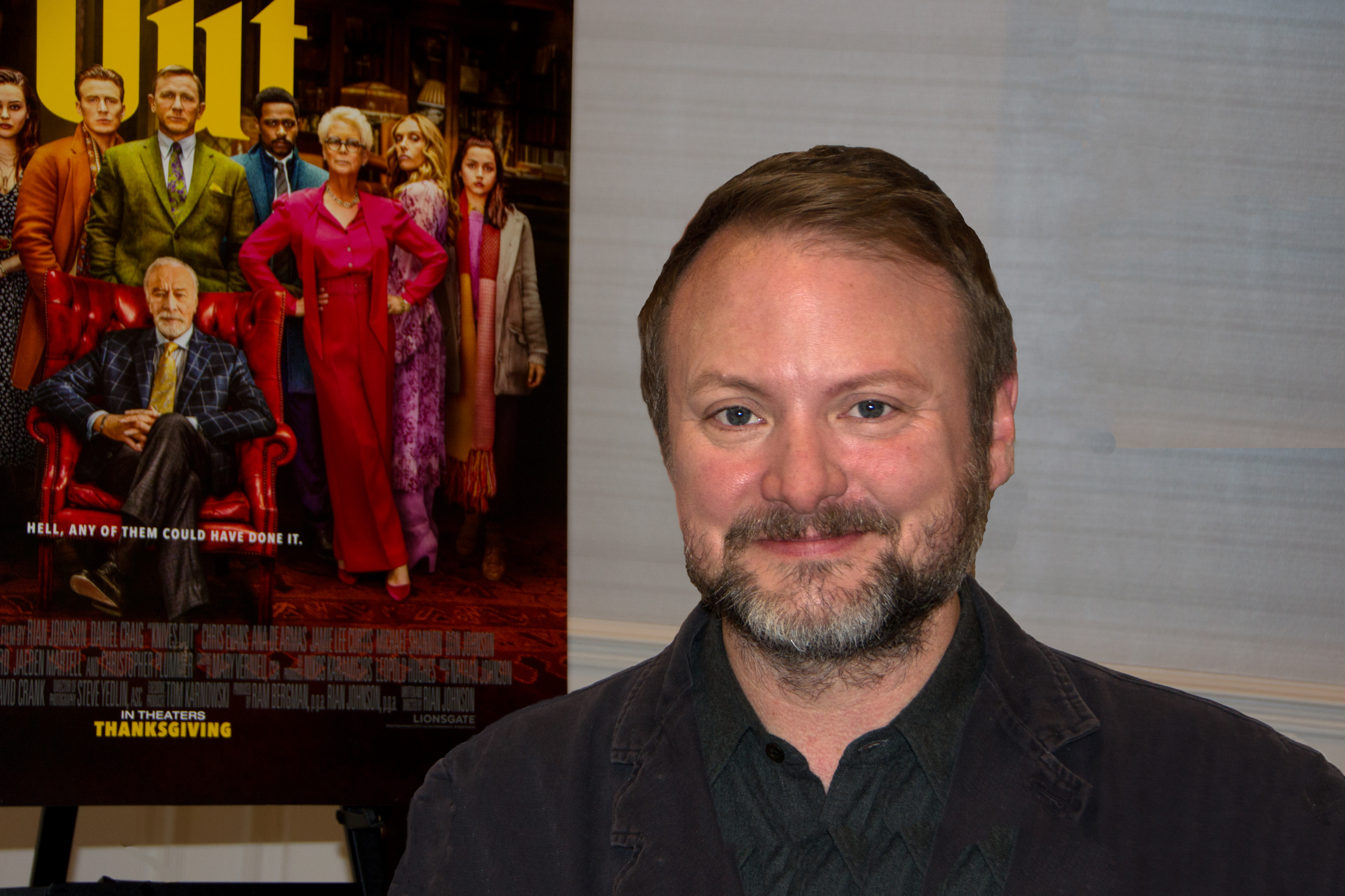 Caption: Rian Johnson, San Francisco, CA 11/11/19, Credit: Andrea Chase