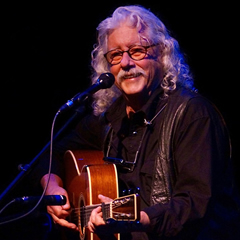 Caption: Arlo Guthrie