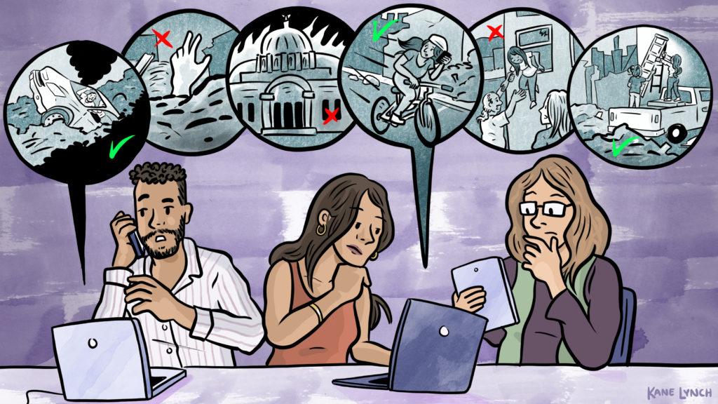 Caption: Verificado 19 Mexico City, Credit:  Kane Lynch, illustrator