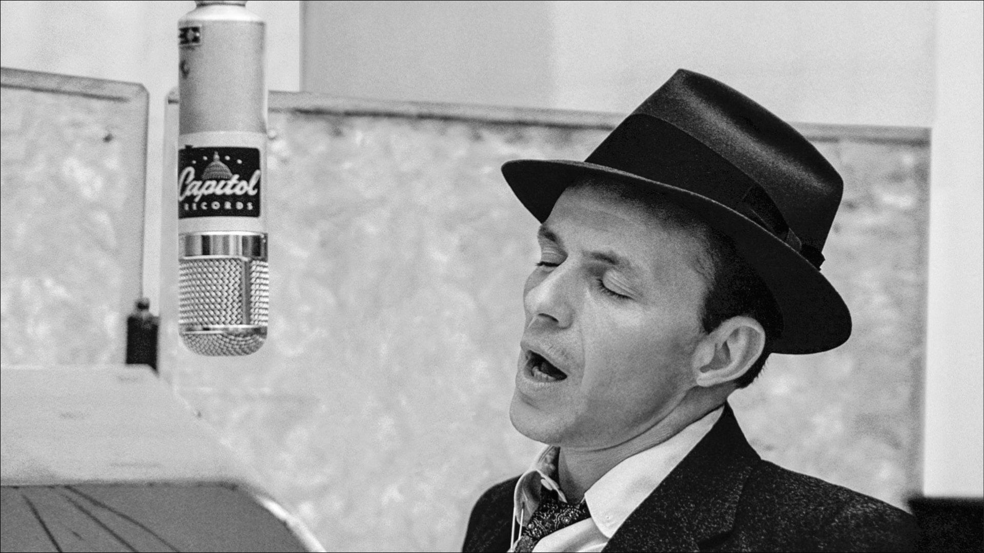 Caption: Frank Sinatra