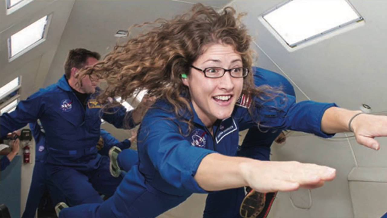Caption: Astronaut Christina Koch