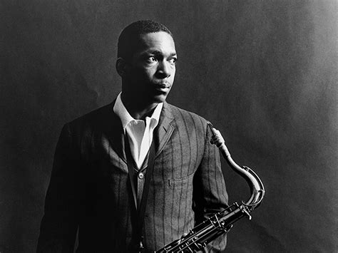Caption: John Coltrane