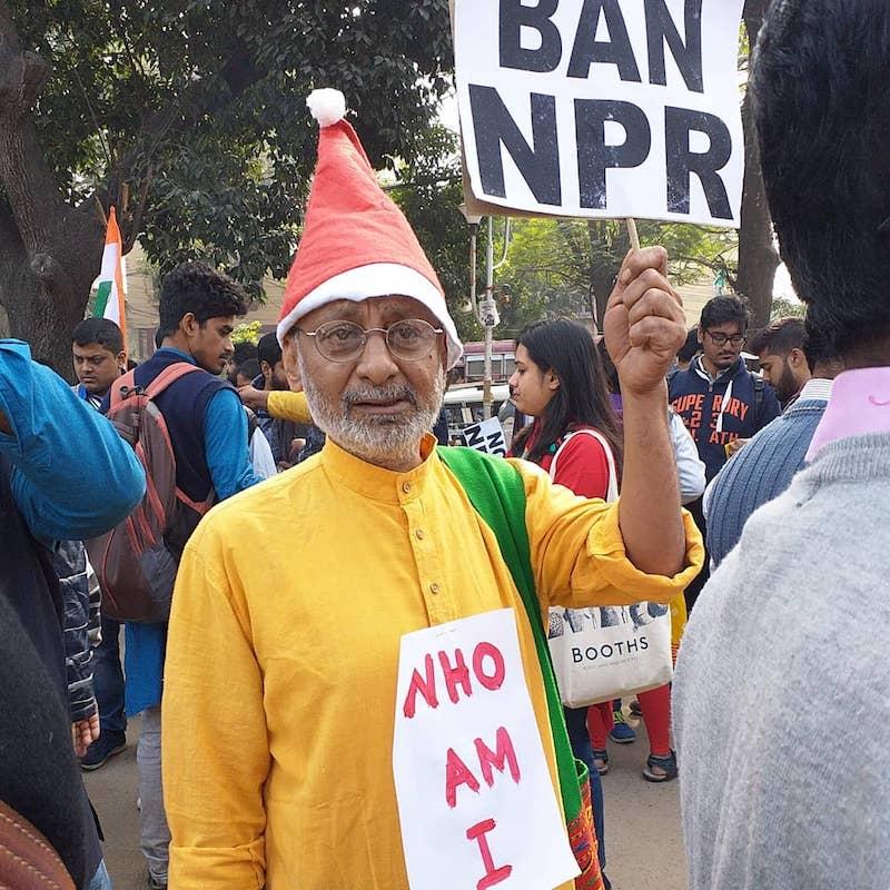 Caption: Joseph Narendra Muhammad, Credit: Sandip Roy