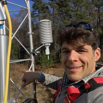 Caption: Chris Gough, scientist and professor at VCU.