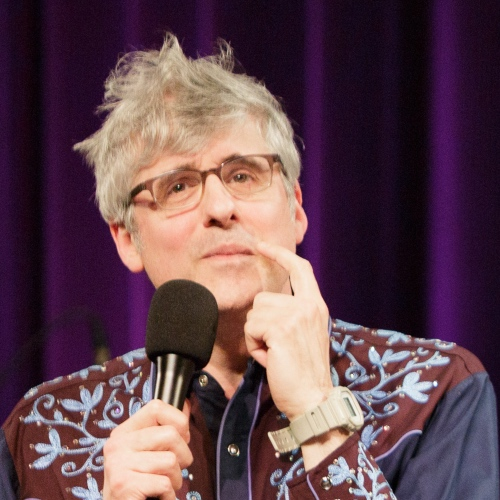 Caption: Mo Rocca on Live Wire, Credit: Jennie Baker