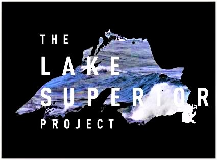 Caption: The Lake Superior Project/Logo by Lauryl Loberg