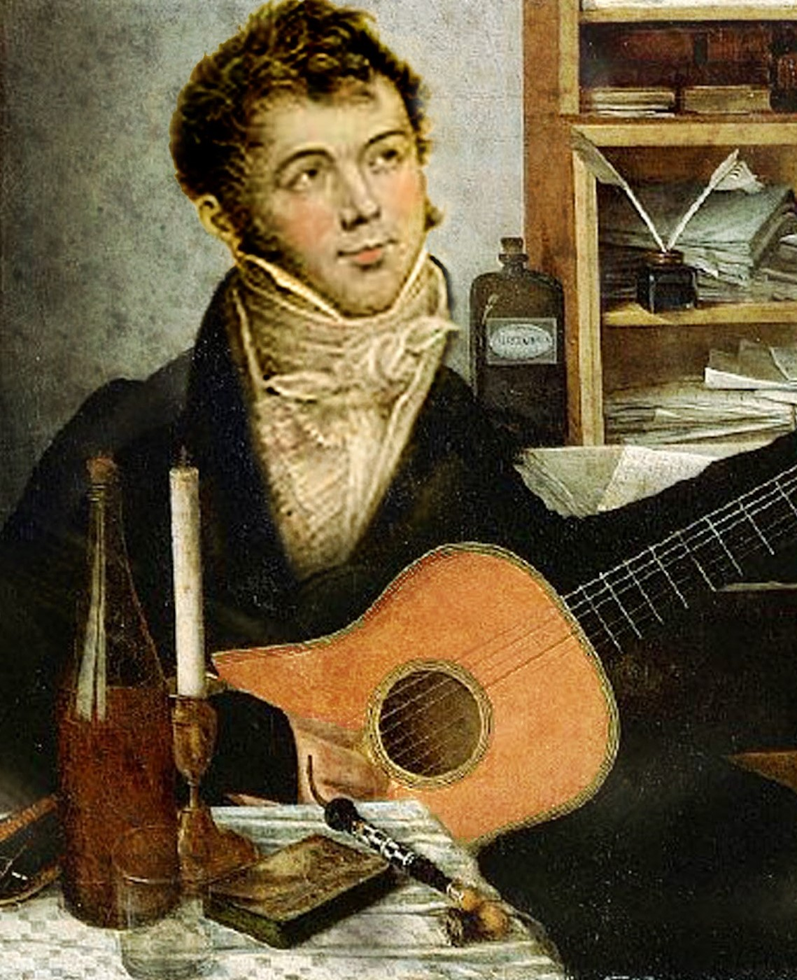 Caption: Guitarist and Composer Fernando Sor