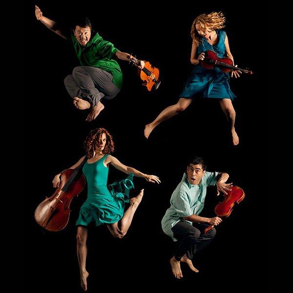 Caption: Del Sol String Quartet