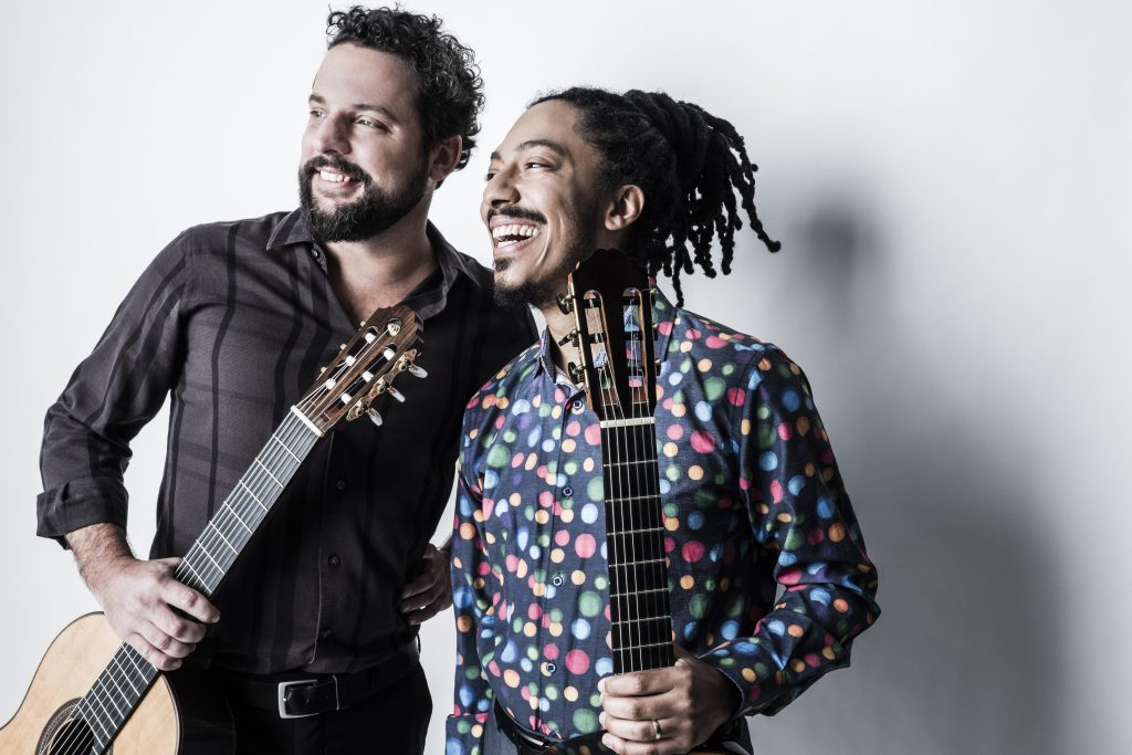 Caption: Brasil Guitar Duo, Credit: Dario Acosta