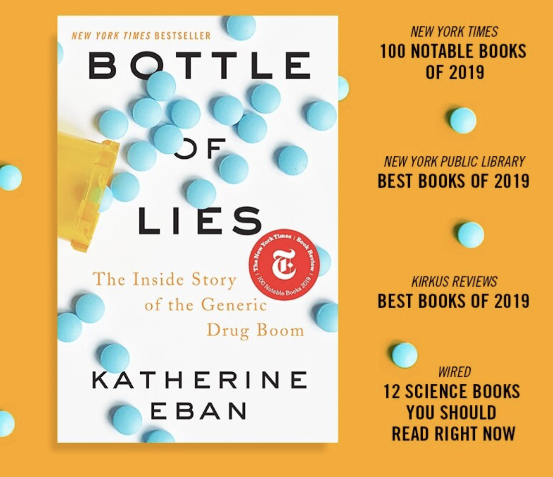 Caption: Bottle of Lies book cover