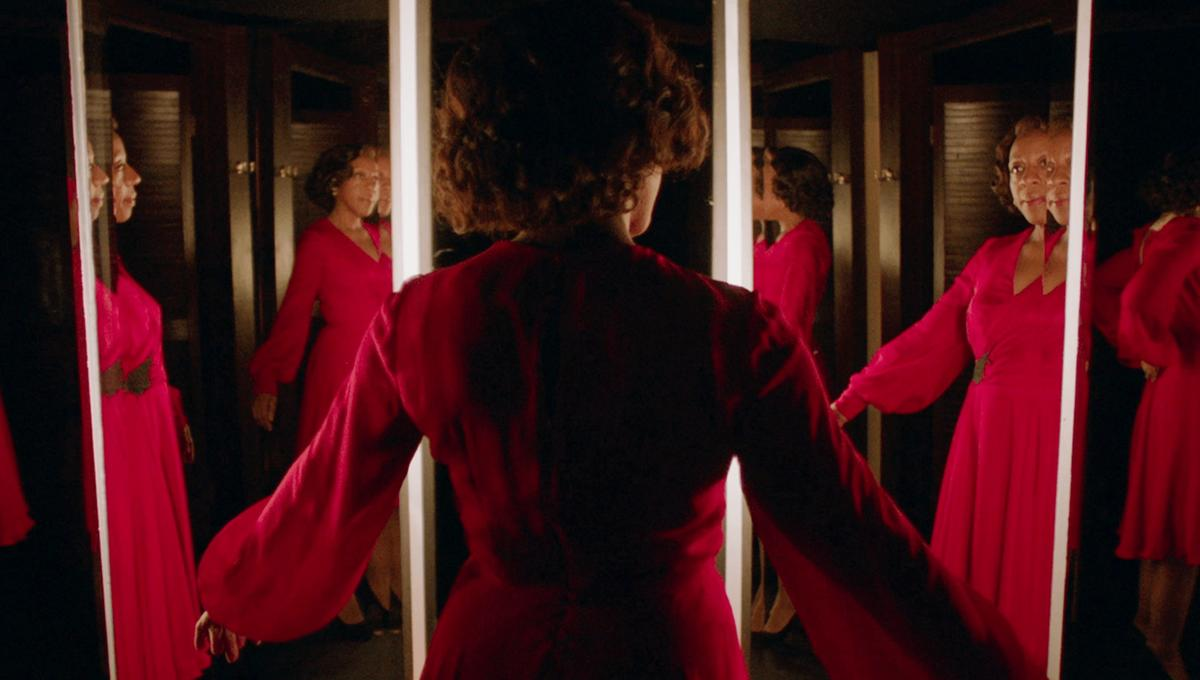 Caption: In Fabric - Mirror