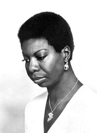 Caption: Nina Simone