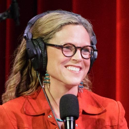 Caption: Irene Taylor Brodsky on Live Wire, Credit: Jennie Baker