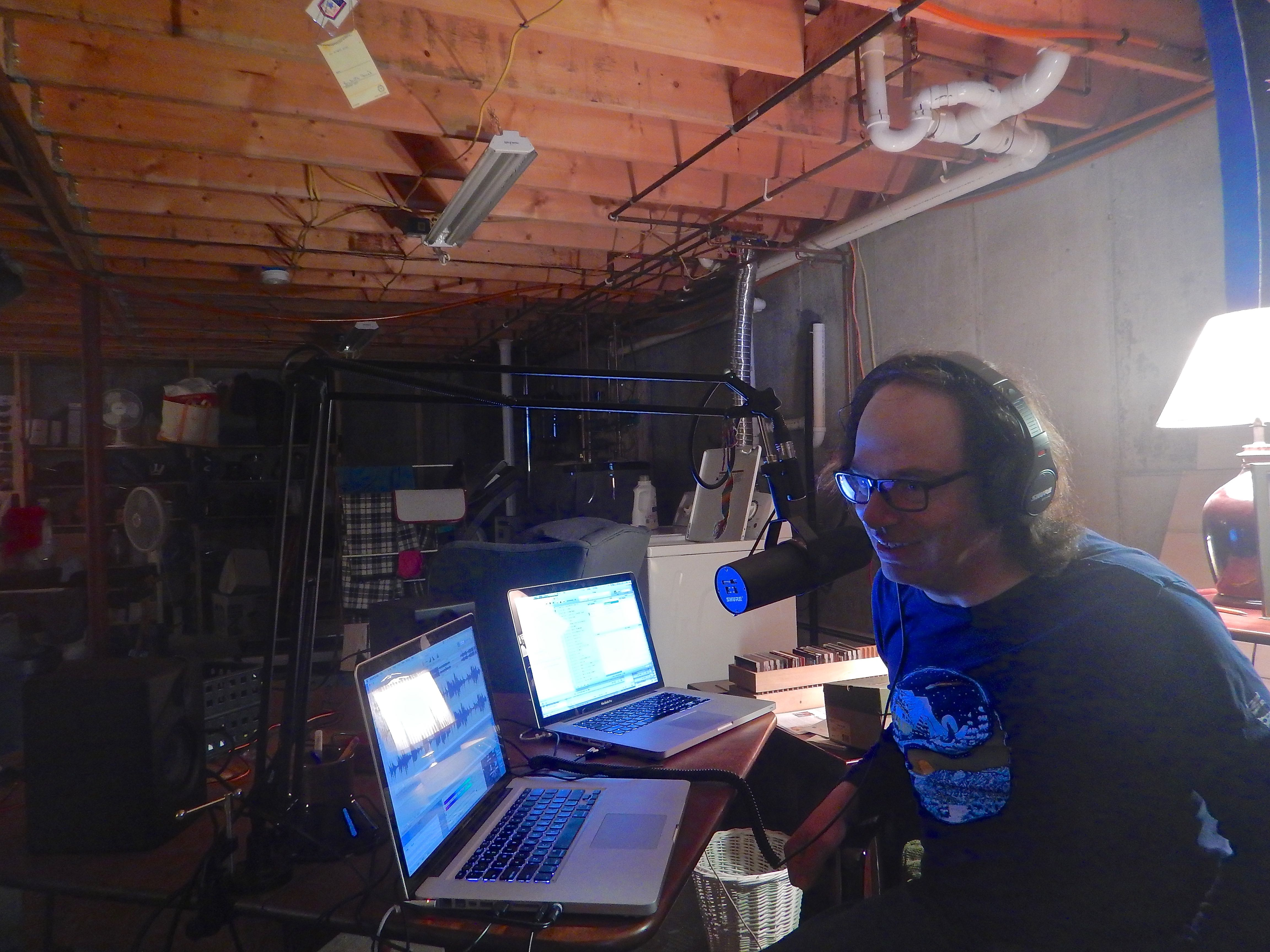 Caption: Home Recording Studio, Moretown, VT