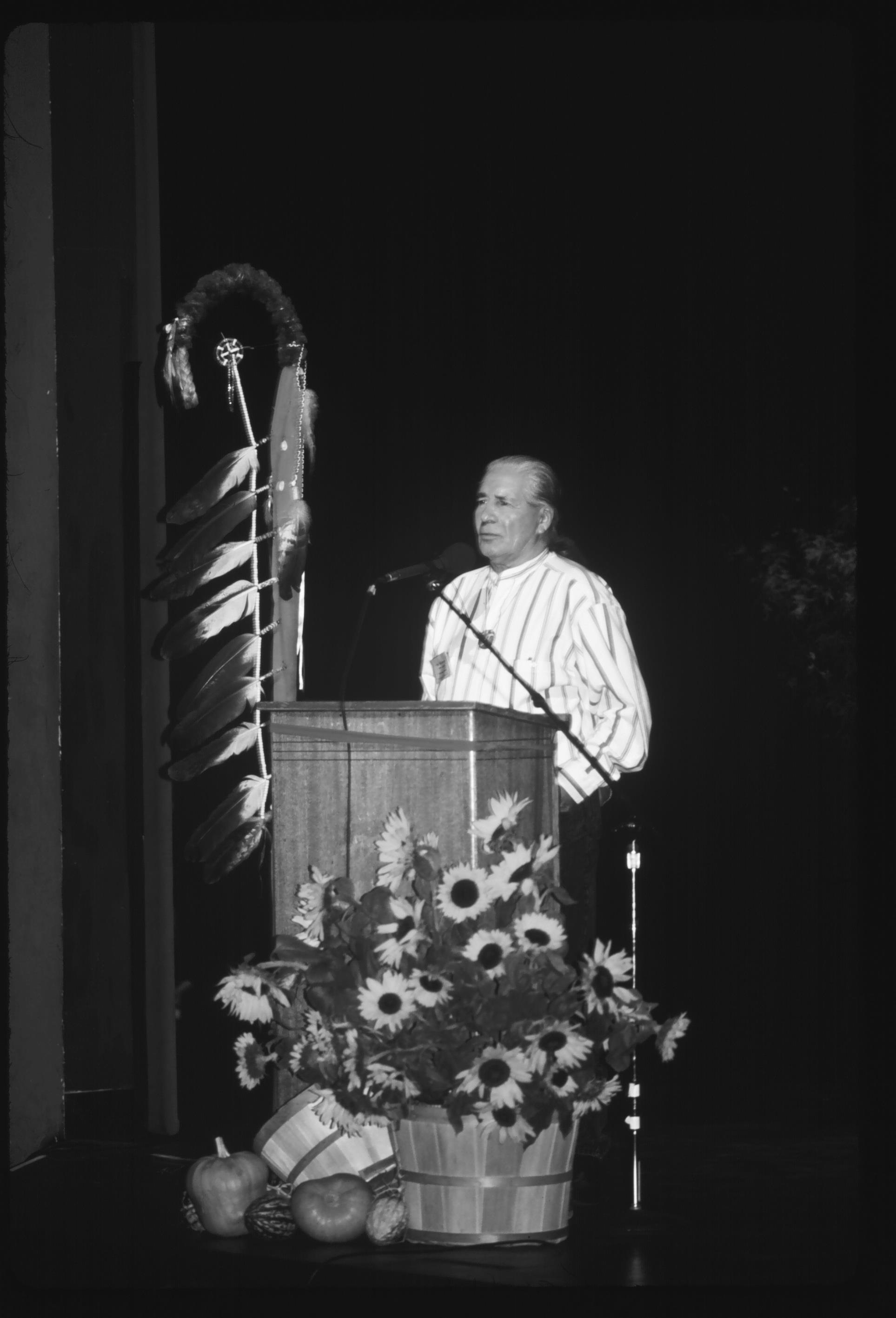 Caption: Chief Oren Lyons