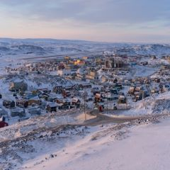 Caption: Iqaluit is the capital city of Nunavut, the largest territory in Canada., Credit: Nick Mott